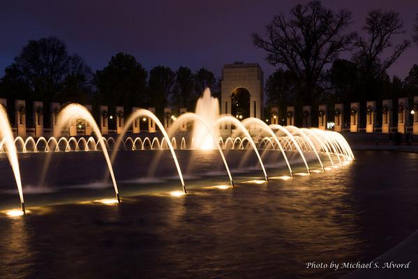 Washington DC Night Photo Shoot