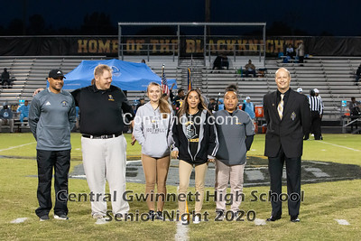 Senior Night Pictures