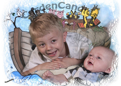 Conner and Caleb