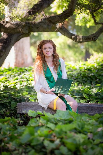 Mikaela's Cal Poly Grad Portraits