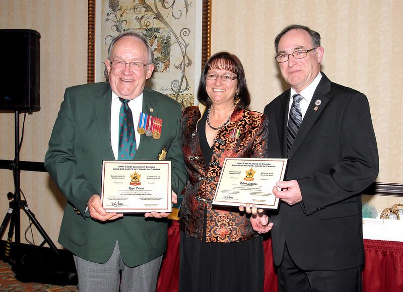 Roger Prouse (BC), Cathy Bach (BC) & Robert Langeving (NB)