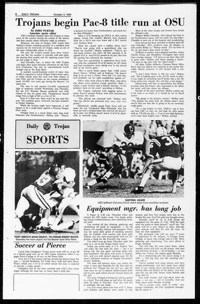 Daily Trojan, Vol. 61, No. 15, October 03, 1969
