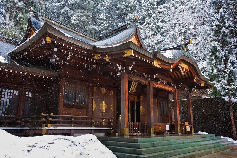 Sakurayama Hachimangu Shrine, Hida, Takayama