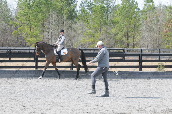 February 7, 2012 - Mark Phillips Clinic, Bridle Creek Farm, Aiken, South Carolina - Boyd Martin, Neville Bardos, Susan Beebee, Wolf, William Coleman III, Twizzle