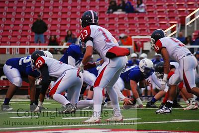 Football State Semi Springville vs Dixie 2009