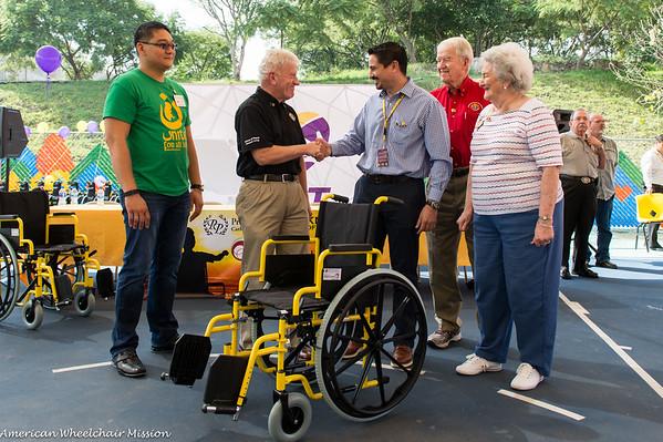 Wheelchair Distribution at CRIT Chiapas