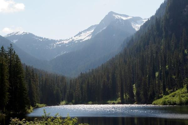 Slide Lake August 2011