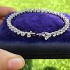 9.50ctw Round Brilliant Diamond Tennis Bracelet 9