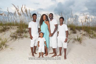 The Brooks Family Sunset Photography Panama City Beach
