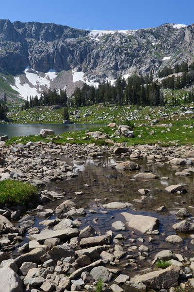 Lake Solitude and Upper North Cascade Canyon