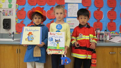 PCR Kindergartners Become Story Characters
