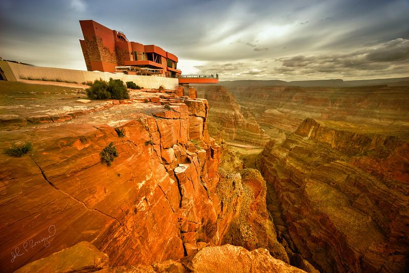 Canyon overlook Grand Canyon