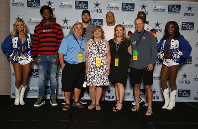 2018 New York Giants at Cowboys Players Op