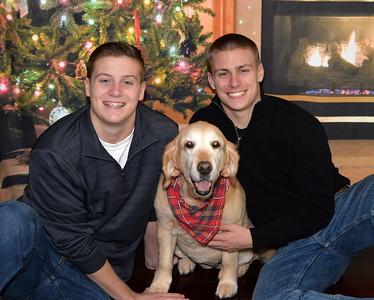 Boys & Abby Christmas 2015