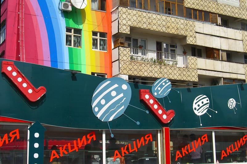 Shopping in Almaty, Kazakhstan