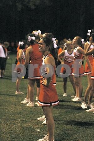 2006 CHS Cheerleaders at Tara Game