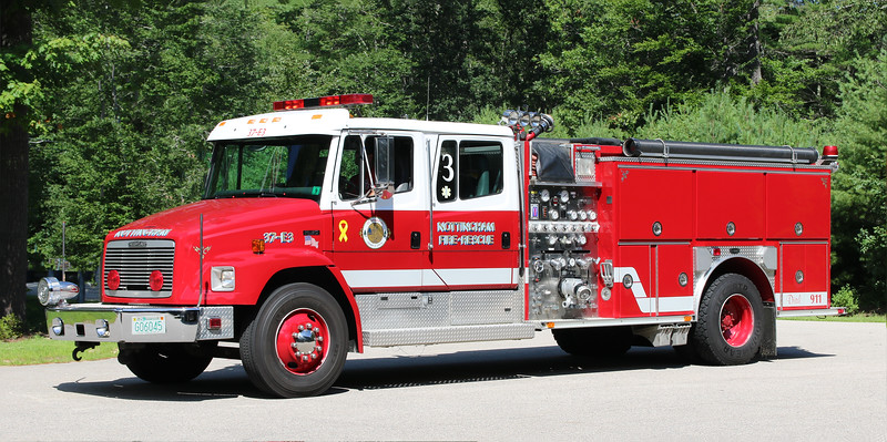 Engine 3   1995 Freightliner / E-One   1250 / 1000