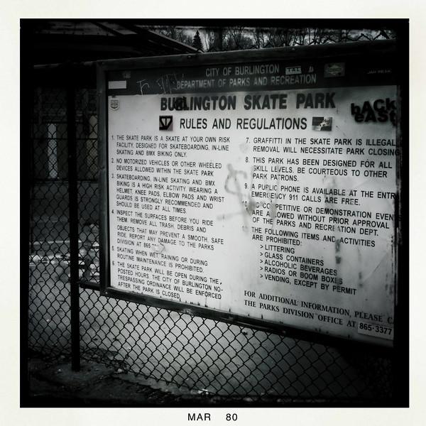 Burlington Skate Park - Burlington, VT