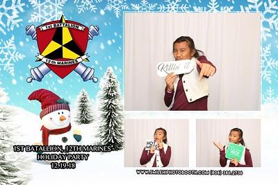 Kate Szlamas Marines Winter Event