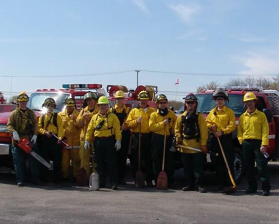 Lake county Wildland Team