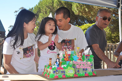 Emma and Hailey's Birthday Party 9.15.2012