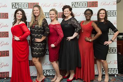 24000org Red Tie Gala