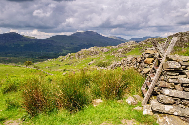 Walking path in Snowdonia