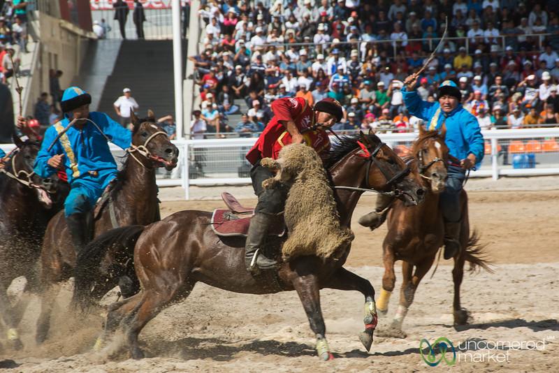 Kyrgyzstan-Kazakhstan Kok-boru Final - World Nomad Games 2016