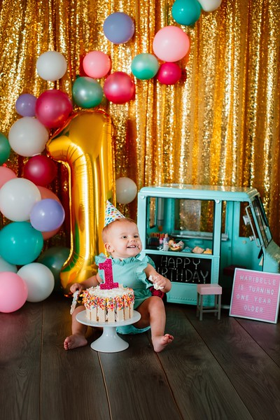 1 Year Milestone and Cake Smash Sessions