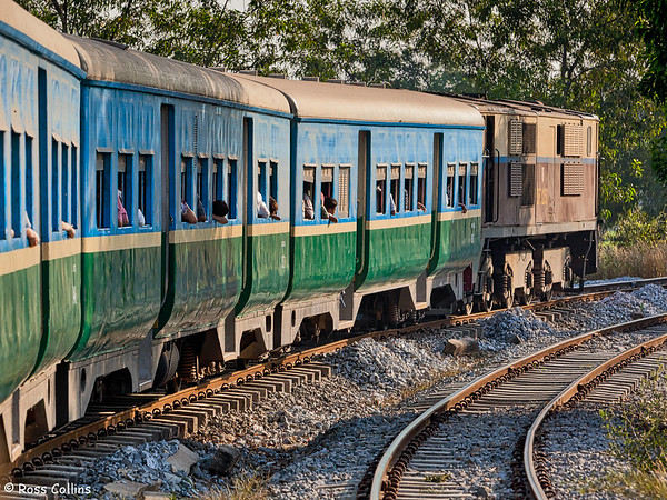 Yangon City Circle Line 2013