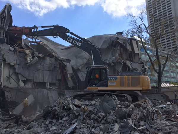 NPK M38G Material Processor rental on Deere excavator - commercial demolition Atlanta, GA (23).JPG