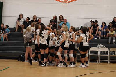 Howe 8th grade volleyball, 8/30/2021