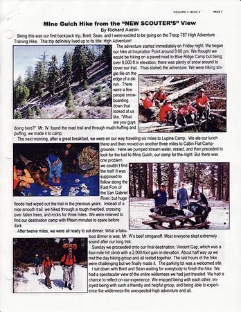 April 2002 Troop Talk - Volume 3, Issue 4