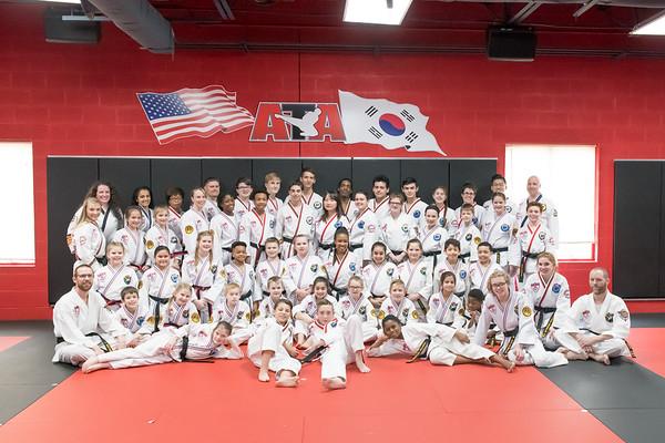 ATA Black Belt Testing March 2019