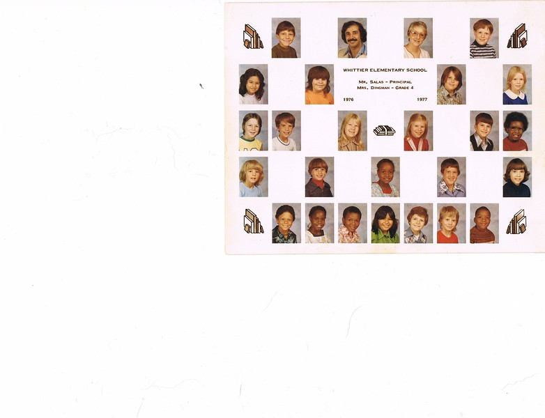 PHOTO - DAWN and Classmates - Whittier Elementary - 1976-1977 - 4th Grade.jpg