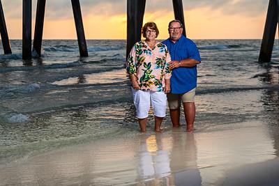 Charlene and Ron Panama City Beach 2020