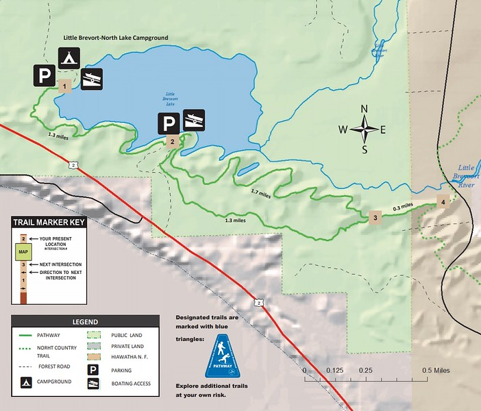 Switchback Ridge Pathway