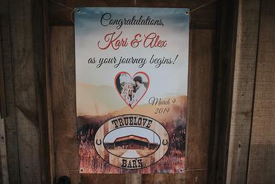 Kari + Alex Wedding