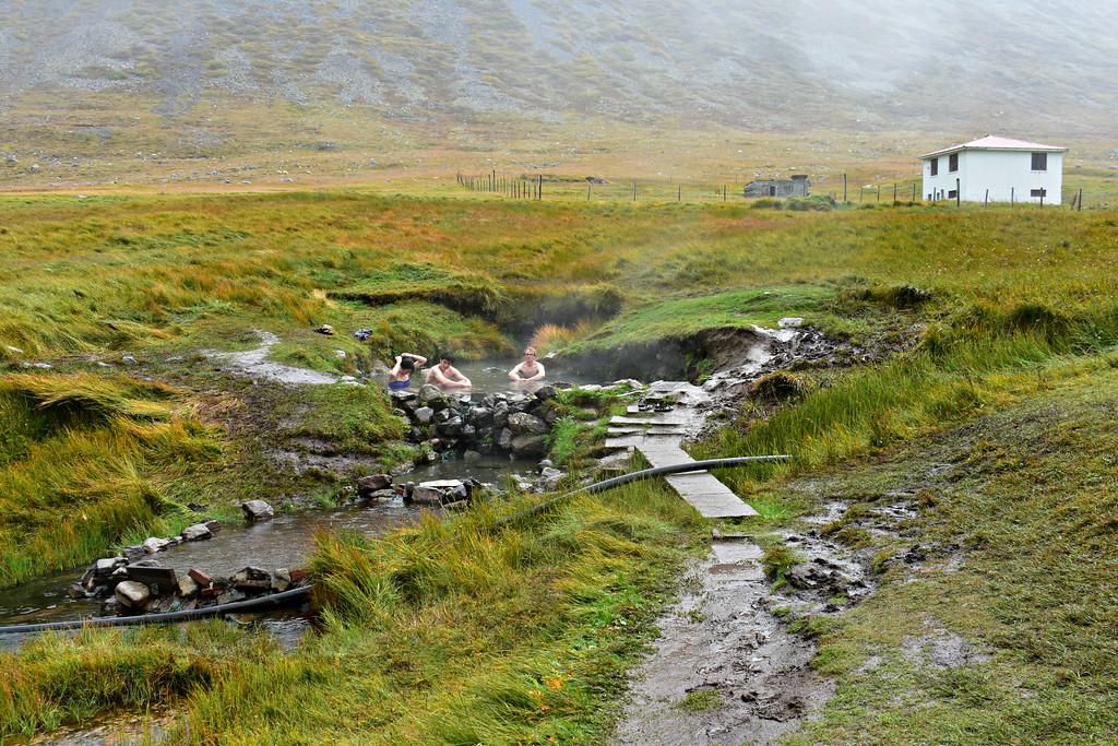 Reykjafjarðarlaug and hot spring West Fjords Iceland