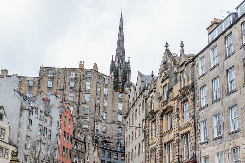 Historic Grassmarket Edinburgh