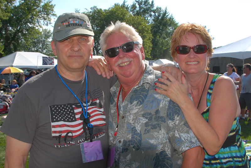Rockin For The Troops - Cantigny Park - Winfield, Illinois - July 20, 2013 - People in the crowd and volunteers who put on this wonderful event!