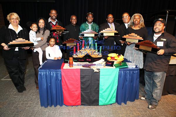 12-11-10 WVON Pre Kwanzaa Celebration Awards