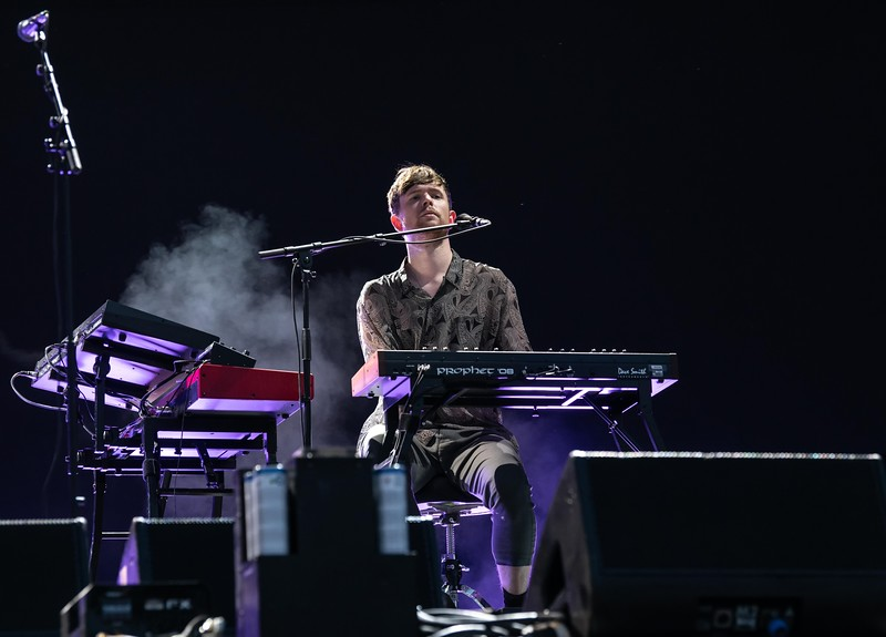 James Blake at the Made In America Festival