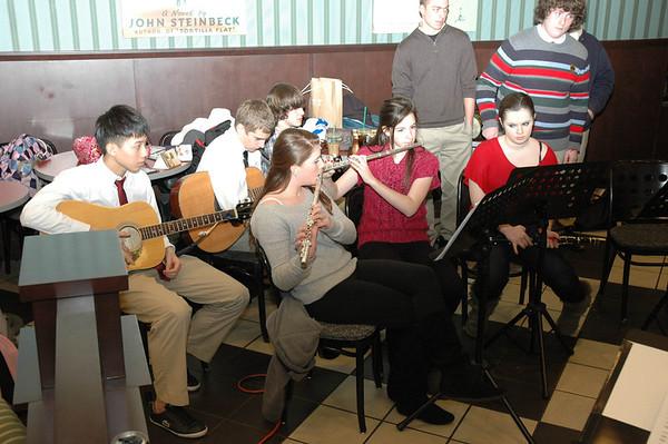 AWHS Chorus At Barnes and Noble