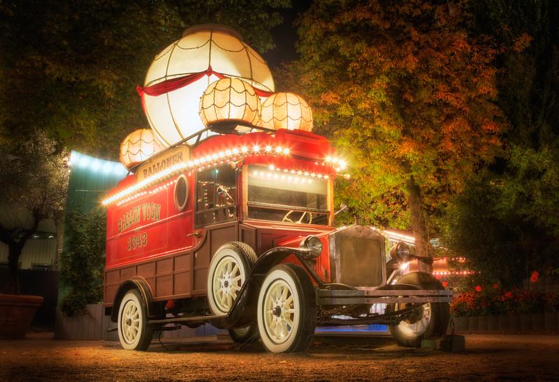 Steampunk Ballon Wagon