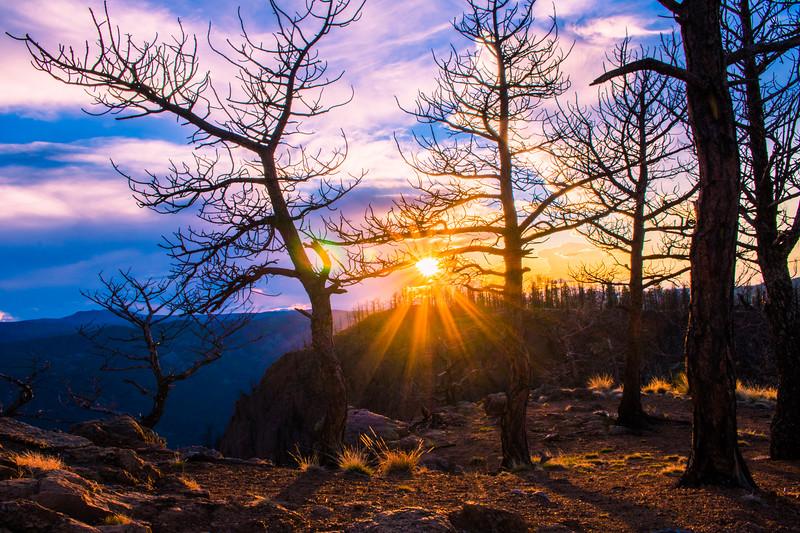 Rampart Range Sunset