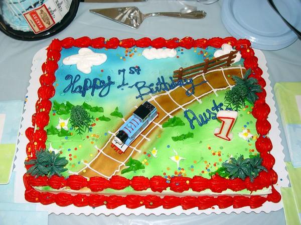 2005 Mar 5 - Austin Quiroz - 1st Birthday
