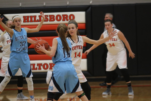 Dec. 20, 2018 - Hillsboro Girls Basketball vs. Mater Dei