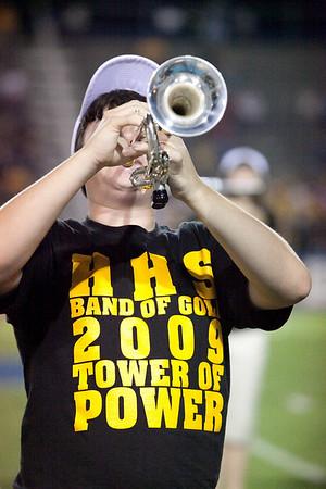 LHS vs Hendersonville Band