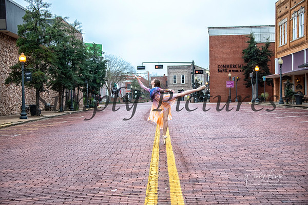 Ballet on the Brick Streets